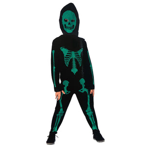Boys Green Skeleton