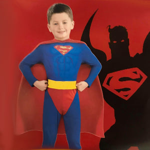 Super Boy Hero Costume