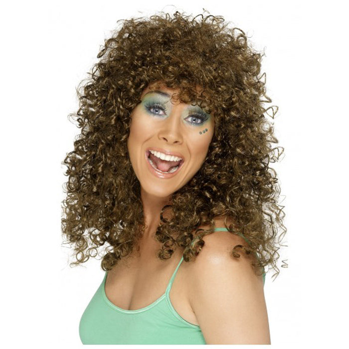Brown Boogie Babe Wig
