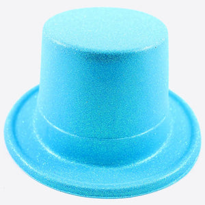 Candy Glitter Blue Top Hat