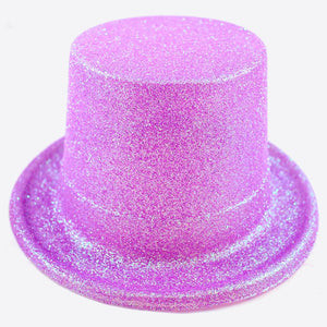 Candy Glitter Lilac Top Hat