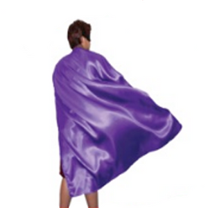 Long Purple Cape