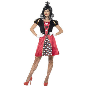 Carded Queen of Hearts Costume