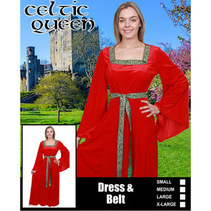 Medieval Celtic Queen Gown