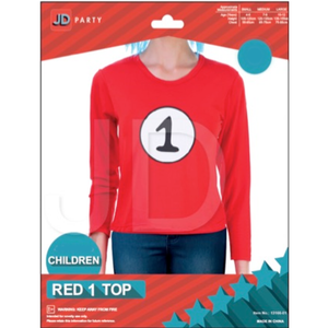 Child Thing 1 Red Top