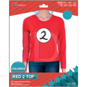 Child Thing 2 Red Top
