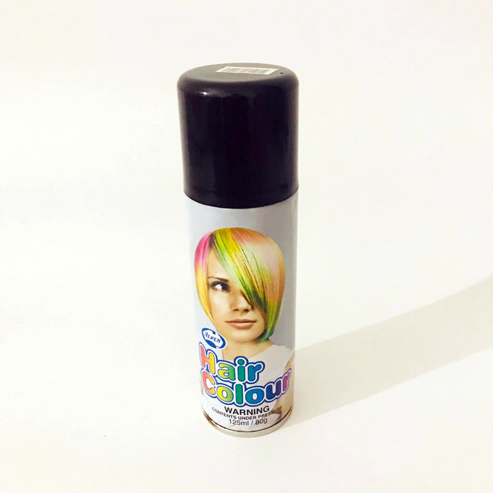 Colour Hair Spray - Black