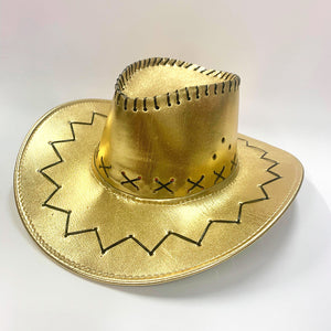 Metallic Cowboy Hat