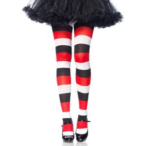 Darling Doll Opaque Striped Tights