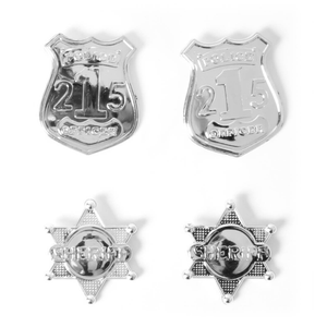 Delux Police Officer Badge Set