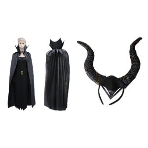 Maleficent Cape & Headband Set