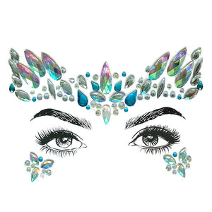 Face Jewels - Mermaid