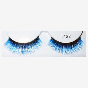 False Eyelashes Black/Blue