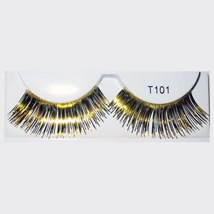 False Eyelashes Gold