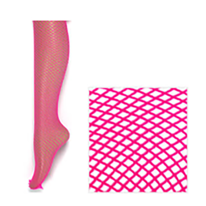 Fishnet Pantyhose Hot Pink