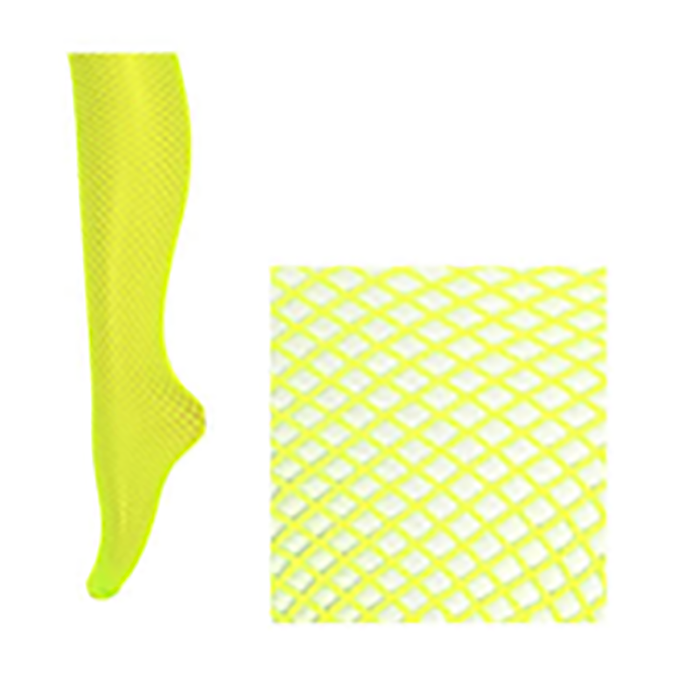 Fishnet Pantyhose Yellow