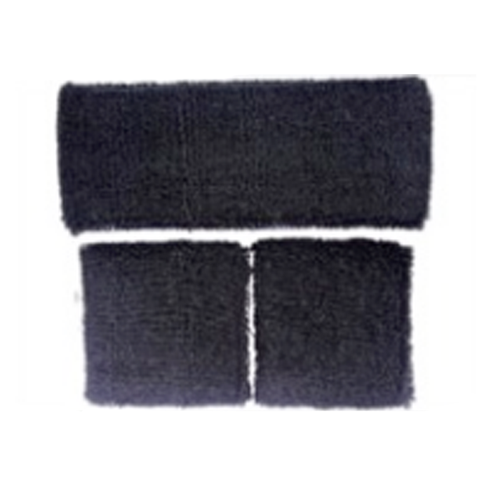 Sweatband Set - Black
