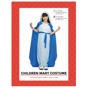 Mary Children's Costume