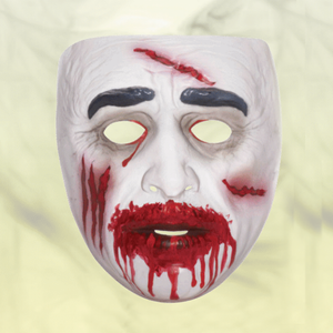 Mask - Transparent Zombie Bloody