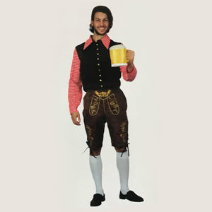 Mens Black Oktoberfest Costume