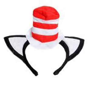 Cat In The Hat Headband