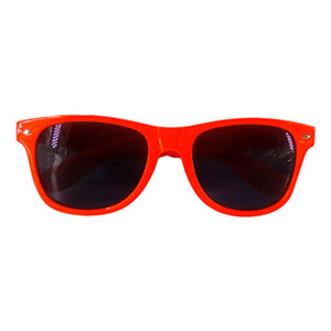 Neon Sunglasses Orange