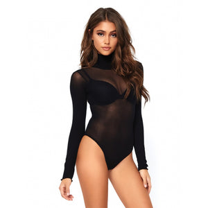 Opaque Bodysuit Black