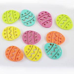 Glitter Easter Egg Stickers