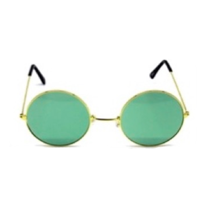 Hippie Glasses - Green