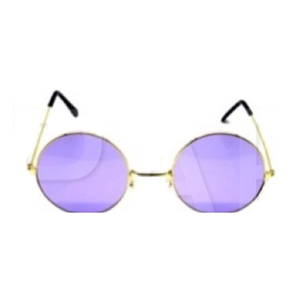 PartyGlasses Hippie Purple