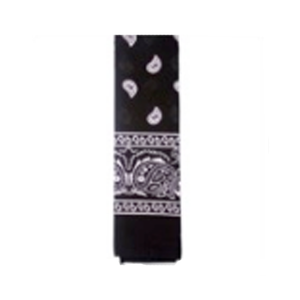 Bandana Pattern Black
