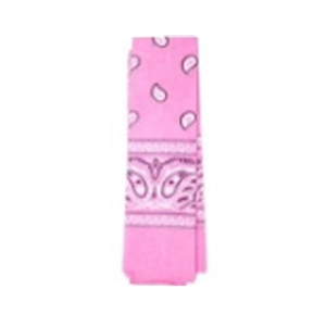 Bandana Pattern Light Pink