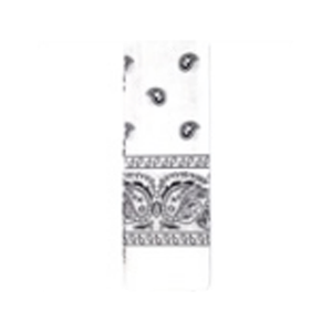 Bandana Pattern White