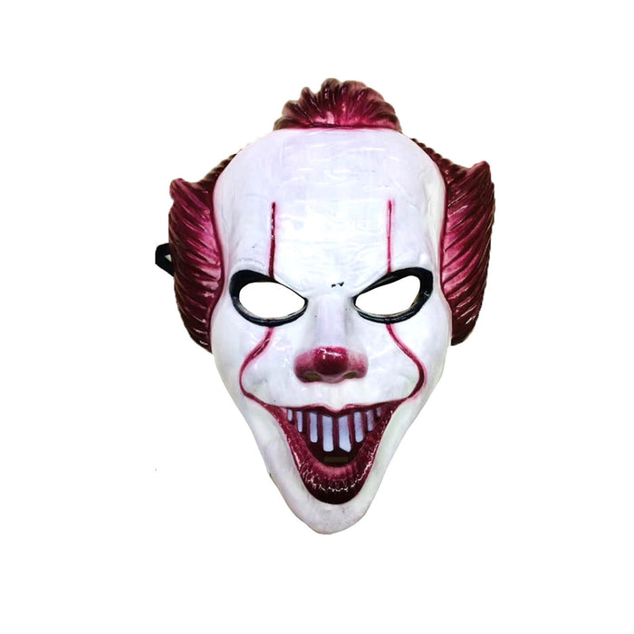 Evil Clown Plastic Mask