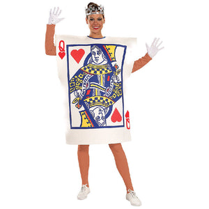 Queen of Hearts Card Playing Costume