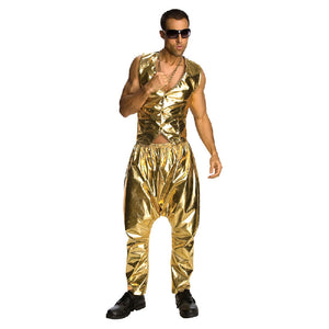 Rapper Gold Pants