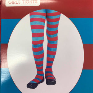 Red and Blue Stripe Stockings - Kids