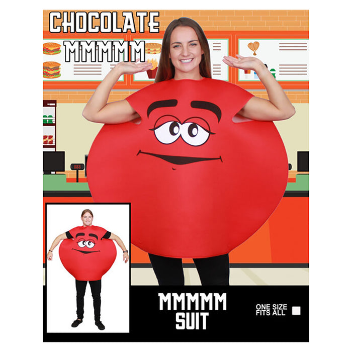 Red Chocolate M&M