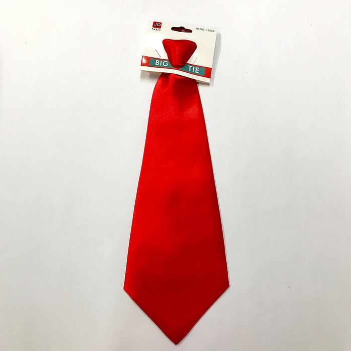Wide Red Tie