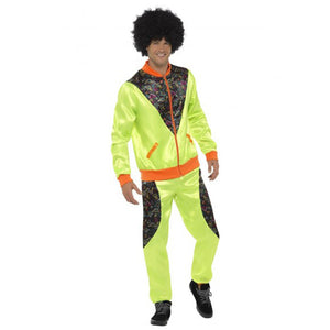 Mens Retro Shell Suit Costume