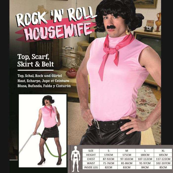 Rock N Roll Housewife Costume