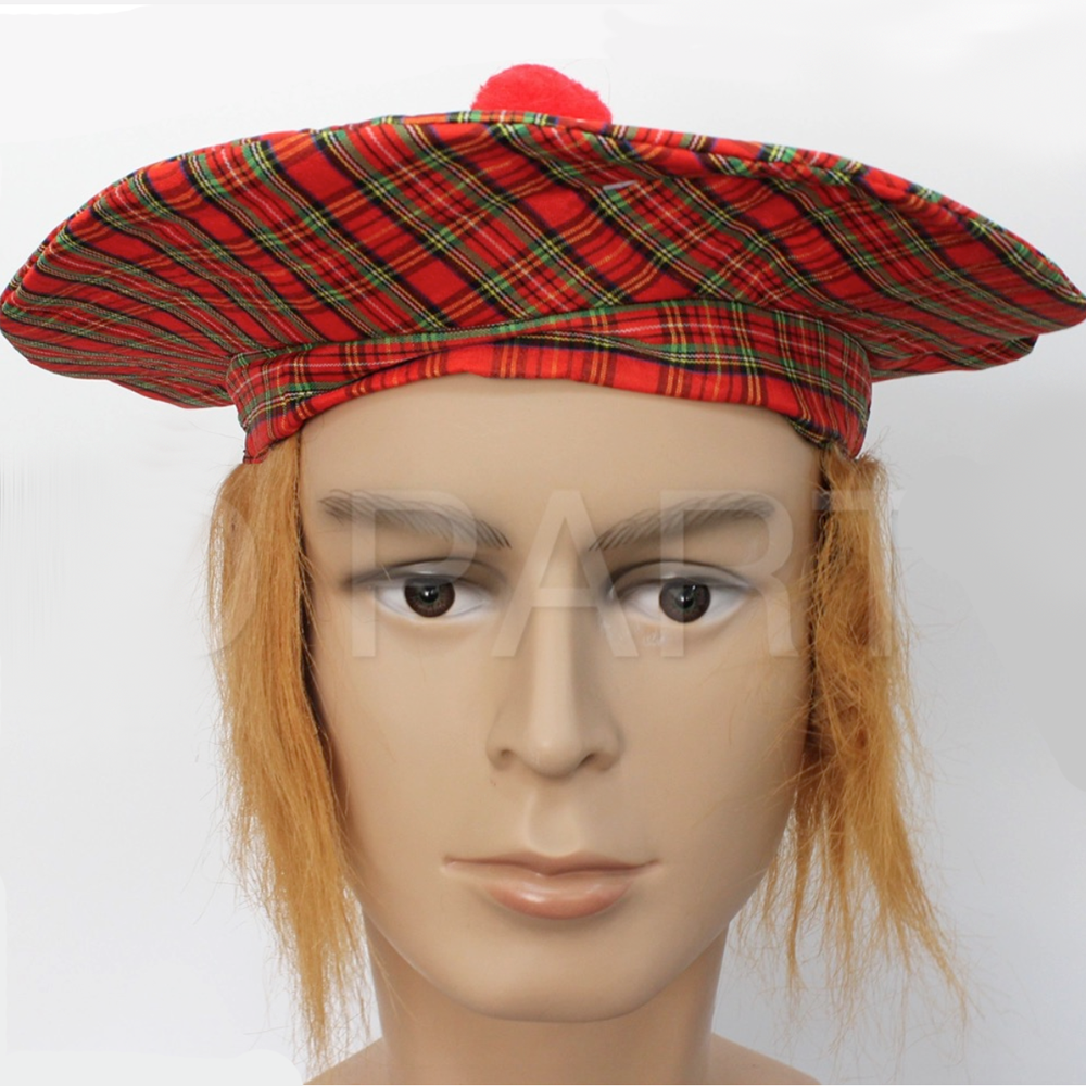 Scottish Tartan Hat