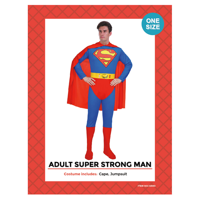 Super Strong Man Costume
