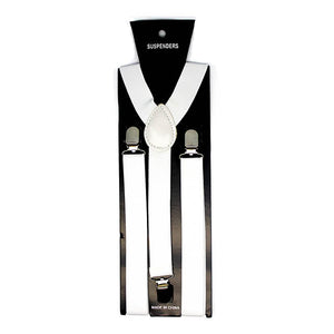 Suspenders - White