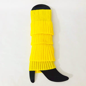 Yellow Legwarmers