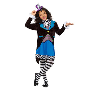 Little Miss Hatter Costume With Dress