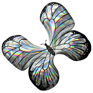 Supershape Holographic Iridescent Butterfly Balloon