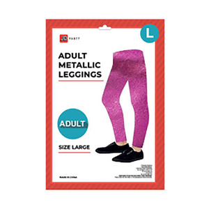 Adult Metallic Leggings - Various Colours