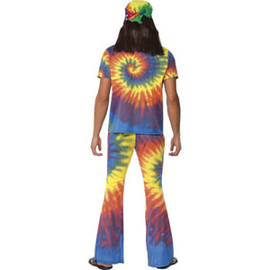 60's Tie Dye Top and Flared Trousers