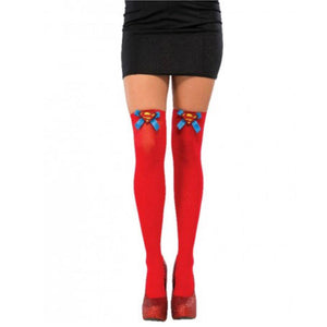 Superwoman Thigh High Stockings